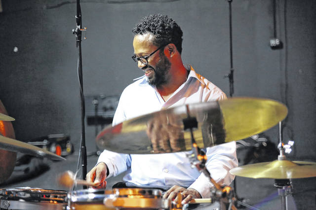 "Percussionist Mark Lomax II will perform a free concert March 17 at Ohio Wesleyan University. He will be joined by The Urban Art Ensemble to share music from his landmark 12-album collection ""400: An Afrikan Epic."""