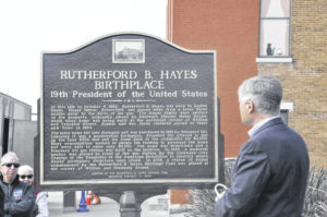Hayes' birthplace honored