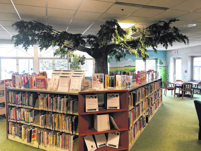 Pictured is the children's area at the main branch of the Delaware County District Library. Thanks to Dolly Parton's Imagination Library and the efforts of Ohio First Lady Fran DeWine, Delaware County children under the age of 5 are eligible to receive free books that don't have to be returned to the local library.