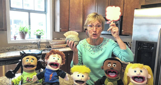 "Marie Weller, a counselor at Carlisle Elementary in Delaware, teaches students to use their ""social filter"" in her kitchen with the use of props and puppets."