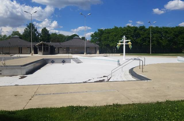 Pictured is the Jack Florance Pool at Mingo Park in Delaware.