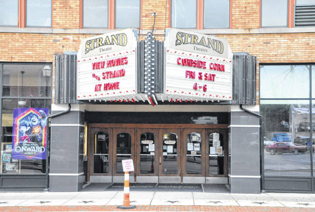The Strand Theatre in downtown Delaware was forced to close its doors in March due to the COVID-19 pandemic. If the state and funds allow, the theatre could reopen in July.