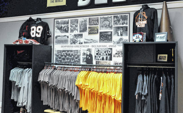 Delaware pride runs heavy on the walls and on the racks inside newly-opened Homestretch Apparel.