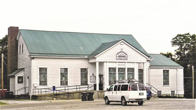 Galena's village hall is closed due to COVID-19, but services continue and meetings are being held virtually.
