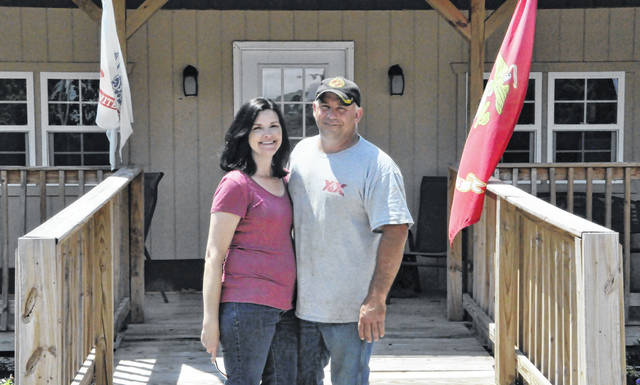 Co-founders Tim Funk and Lisa Benton began Stockhands Horses for Healing in 2014 as a therapeutic riding center.