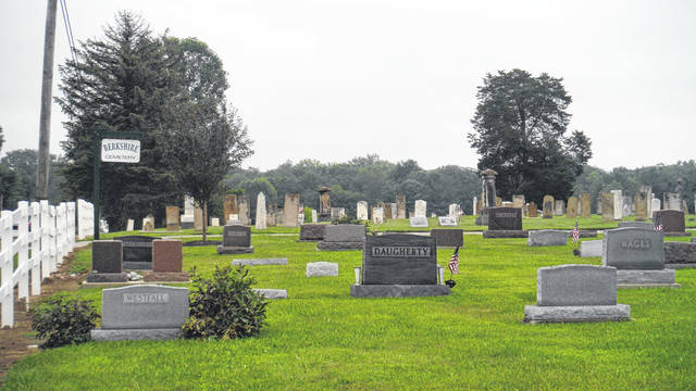 The Berkshire Township Cemetery was the subject of a special meeting earlier this year.