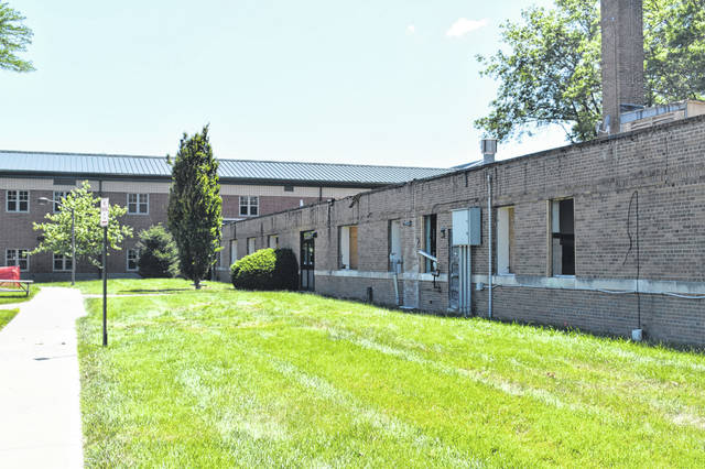 Delaware City Schools' old technology building on Pennsylvania Avenue has been partially demolished and will be torn down to create a new wing at Dempsey Middle School. The project is projected to be completed by next summer.