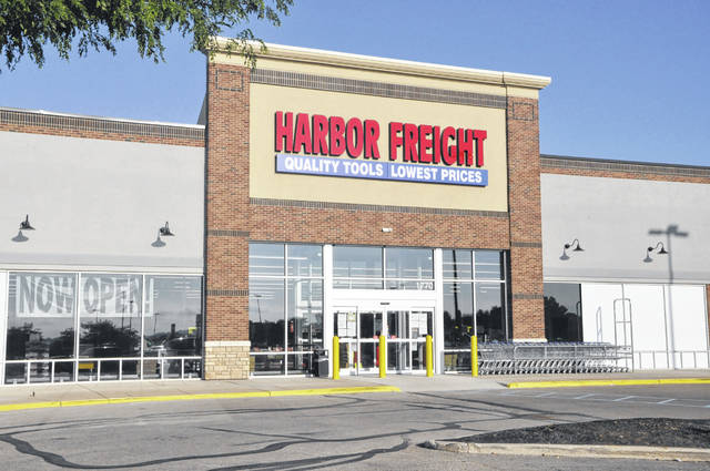 Pictured is the new Harbor Freight store at 1764 Columbus Pike in Delaware. Located next door to Walmart in the Delaware Community Plaza, the retailer's primary focus is tools.