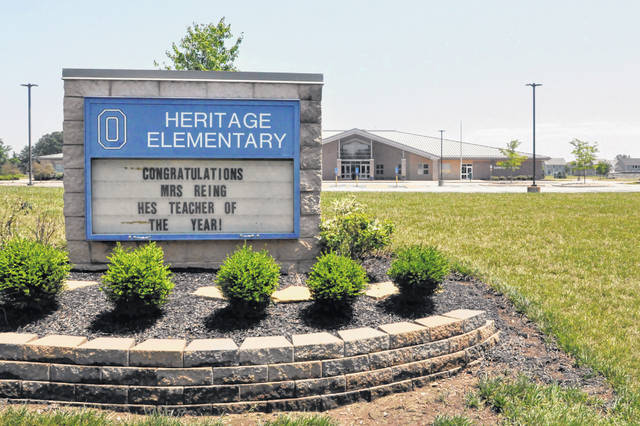 There are 15 elementary schools located within the Olentangy Local School District. Pictured is Heritage Elementary at 679 Lewis Center Road in Lewis Center.