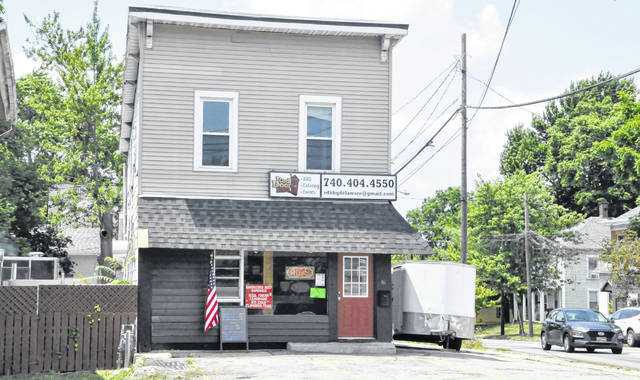 Red Door BBQ Delaware, which opened in June, is located at the corner of East Central Avenue and Lake Street on the city's east side.
