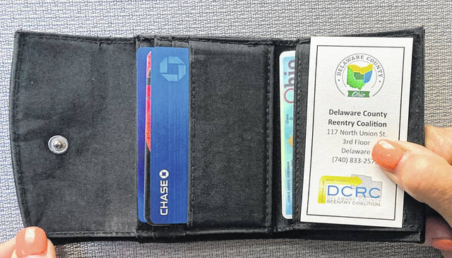 The Delaware County Reentry Coalition recently released a pocket guide for former inmates at the Delaware County Jail. The guide is small enough to fit in a wallet and contains contact information for a variety of resources.