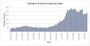 DGHD: Active cases remain stable