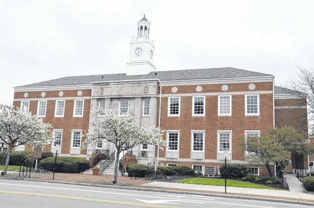 Pictured is Delaware City Hall at 1 S. Sandusky St. in downtown Delaware.