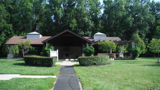 Genoa Township's shelters, such as this one at McNamara Park, are not available to rent this month due to the COVID-19 pandemic.