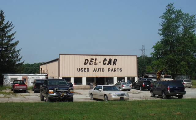 Del-Car Used Auto Parts is a business on Harlem Road in Harlem Township.