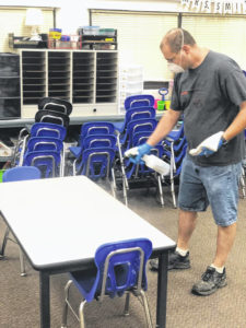 District preparing for reopening
