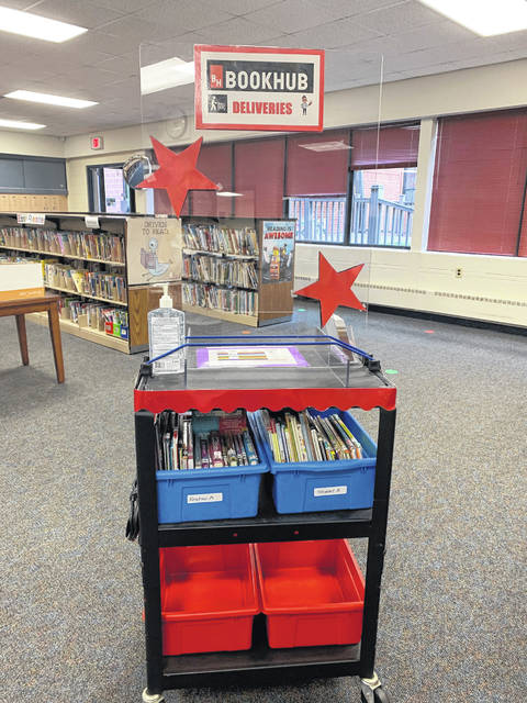 Abahazi said students can fill out Google forms to request specific books or can let her choose an appropriate one for them. She said books in the library have to be quarantined for four days before another students can check them out.
