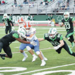 Shamrocks shut down Pioneers, win 28-7