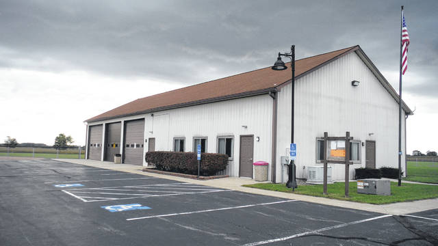 Pictured is the Oxford Township Hall at 5125 Shoemaker Road in Ashley.