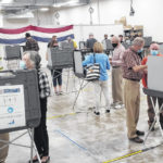 Early voting going smoothly in county
