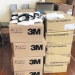 District receives large mask donation
