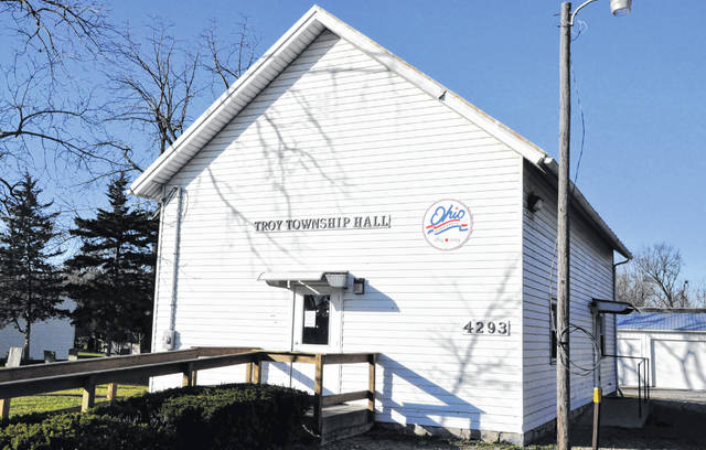 Troy Township Hall is located at 4293 U.S. Route 23 N., Delaware.