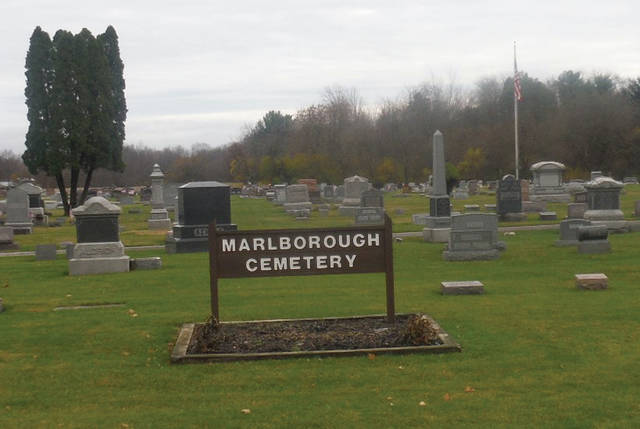 Marlborough Cemetery is located in Troy Township at 5270 Horseshoe Road, Delaware.