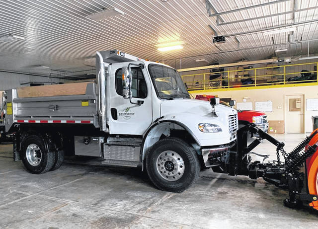 Berkshire Township's new truck is this 2021 Freightliner.