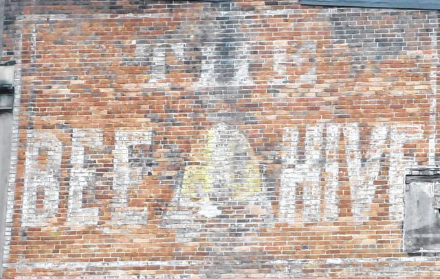 "Downtown Delaware is home to several ghost signs or old hand-painted advertising found on buildings. Pictured is ""The Bee Hive"" sign located on the south side of the building at 4 N. Sandusky St. in downtown Delaware."