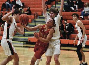 Pacers rally past Golden Eagles