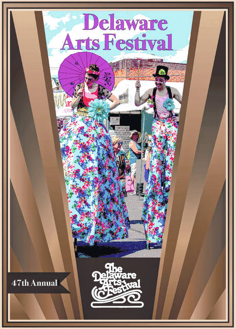 Pictured is the poster organziers were planning to use for the 2021 Delaware Arts Festival.