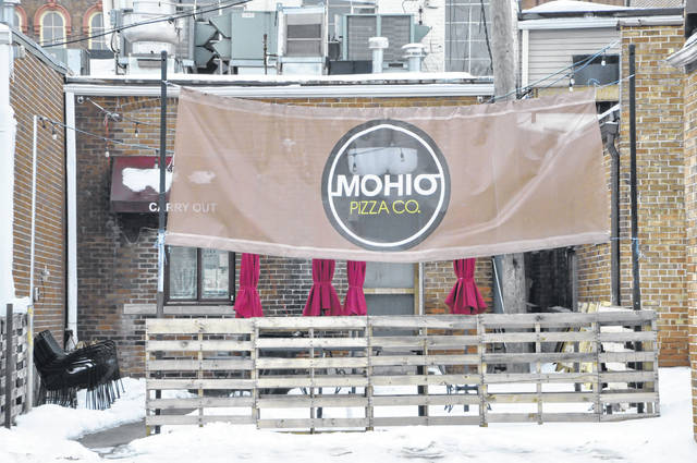 Pictured is the current patio located behind Mohio Pizza Co. at 23 N. Sandusky St. in downtown Delaware.
