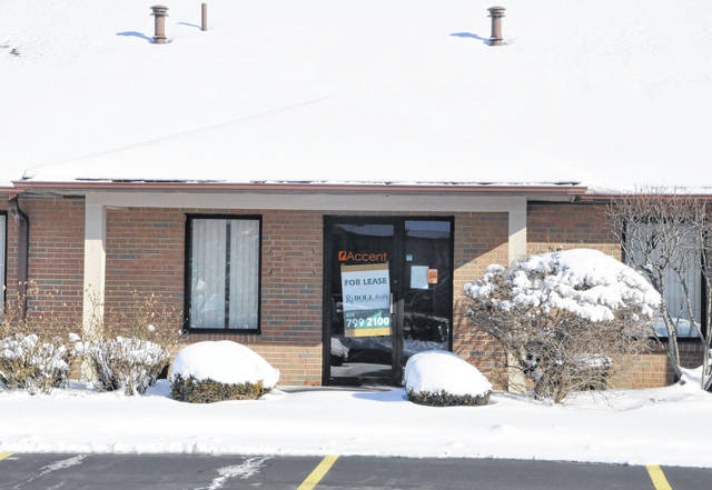 Central Ohio Mobile Veterinary Surgical Services plans to occupy this office building at the Delaware Commerce Park, located at 585 Sunbury Road in Delaware.