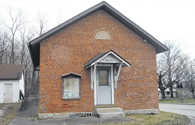 Pictured is the old Genoa Township Hall located at 5007 Tussic Street Road in Westerville. It will be relocated due to a road project.
