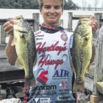 Hayes student selected for fishing team