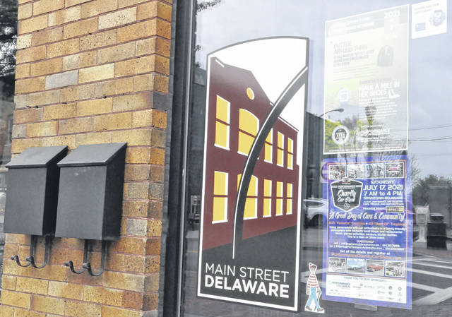 Pictured is Main Street Delaware's office at 20 E. Winter St. in downtown Delaware.