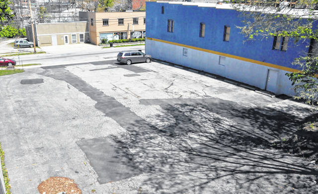 The city-owned parking lot located between the old NAPA store and the Ohio Wesleyan University campus on Spring Street could soon be lined and made available to the public free of charge, pending approval by Delaware City Council.
