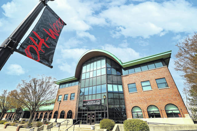 Pictured is the Hamilton-Williams Campus Center located at 40 Rowland Ave. on the campus of Ohio Wesleyan University in Delaware.