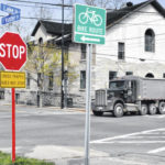 Changes made to intersection