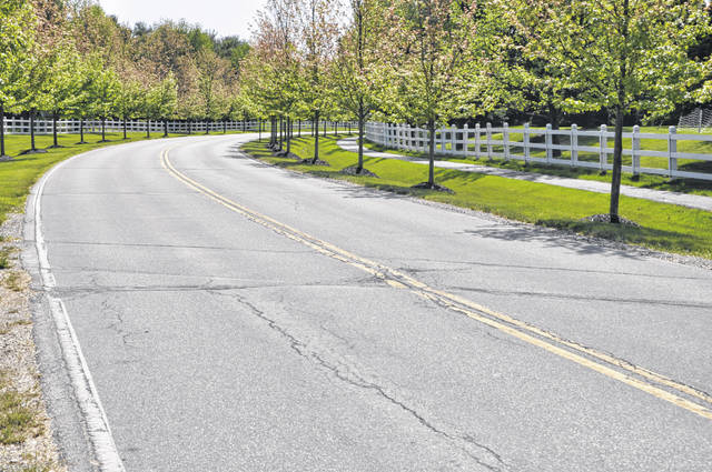 Bennett Parkway in Powell will be milled and repaved this year.