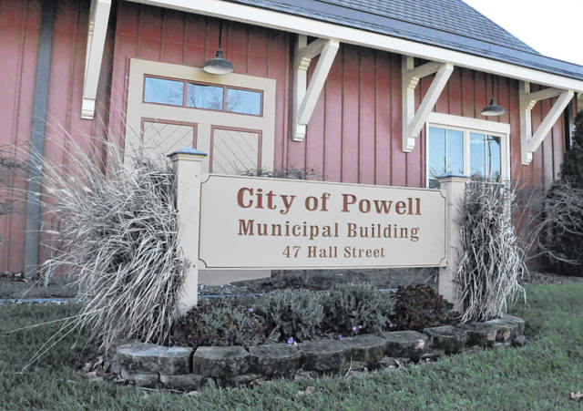 Pictured is the Powell Municipal Building at 47 Hall St.
