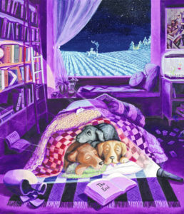 Dogs rule new exhibit at OWU