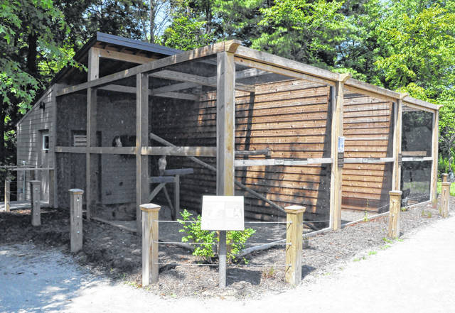 Pictured is the new aviary located at Deer Haven Park, 4183 Liberty Road in Delaware.
