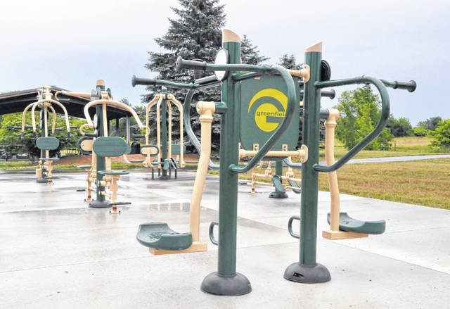 When it comes to finding places to get in a little exercise, Delaware County is home to numerous parks, including Smith Park on Troy Road in Delaware. A section of the park contains Greenfields Outdoor Fitness equipment.