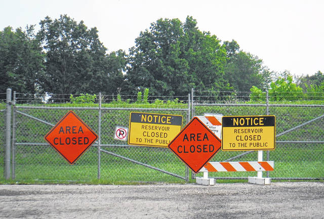 Sunbury's reservoirs, used for fishing, are temporarily closed for the placement of a pedestrian path. Sunbury is starting to be more conscious of its park amenities as it transitions from a village to a city.