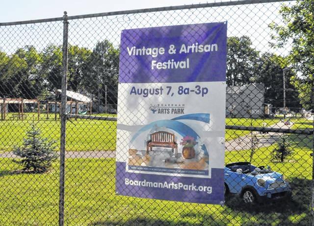 Boardman Arts Park, located at 154 W. William St., Delaware, will be the site of Saturday's Delaware Vintage and Art Festival.