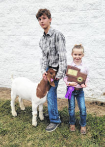Griffin wins goat titles