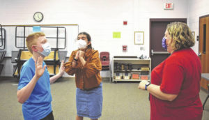 Drama students return to stage