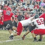 Preble Shawnees loses thriller to defending SWBL Buckeye Division champions Middletown Madison.