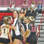 PS volleyball grab first SWBL win of season